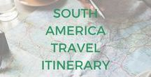 South America Travel Itinerary / Want to know what things to do in South America? Get inspired with these adventure destinations, tips and tricks for planning a trip to South America, South America backpacking routes, inspiration for your next South America trip and South America travel guides.