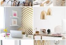 Office / Ideas for my office, plus storage / by Hustle and Grace