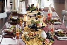 Tablescapes, Buffets, and Misc. Party How-to's / gorgeous tablescapes and other party ideas...