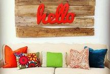 Home Ideas / Ideas I've gathered for my home / by Hustle and Grace