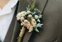 Boutonnieres / by The English Florist