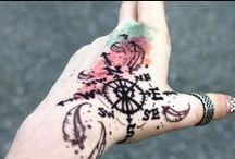 ❤ :: Ink / Inspirations pour le half-sleeve que je souhaites avoir.