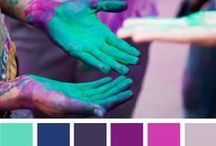 Color Palettes to Play With / Color combos that whisper sweet nothings to my muse....
