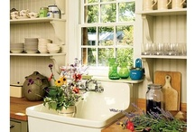 cottage style ~ kitchens / inspiring kitchen designs for cottage living...