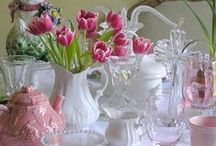 girls' luncheons & tea parties... / ideas for gathering women at the vintage house...for a tea party or a ladies' luncheon