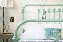 cottage style ~ bedrooms / cozy, comfortable and inviting bedrooms...as we have set out to accomplish at the vintage house bed and breakfast