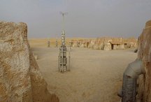 """Abandoned Star Wars Tatooine Sets / When she traveled to Tunisia in September 2010, Di Martino had only a printout of a satellite image with imprecise markers indicating where the mysterious ruin was supposed to be.Upon arriving, however, she found it nearly impossible to track it down. """"I ended up having to ask some frontier guards close by and showed them pictures of the site."""" Luckily, one of the guards recognized it and delivered her to the doorstep of the Lars Homestead."""