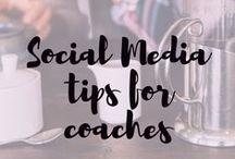 social media tips for holisticpreneurs / Social media tips for coaches and yoga teachers.