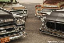 Chevy & GMC Trucks / by Gregg Maggrah