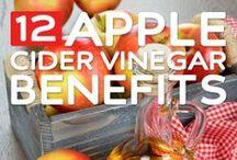Apple cider vinegar / Apple cider vinegar health benefits and recipes