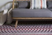 Alternative's Quirky B Collection / Everyone loves the pattern in our Quirky patterned runners. So it was a simple step to combine pattern and colour in a broadoom carpet. Quite simply, that's how Quirky B came about.
