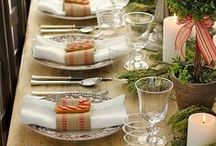tablescapes - christmas