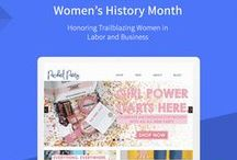 Women's History Month / March is Women's History Month, so we're showcasing trailblazing women in business and labor! Check out the stories of these inspiring female entrepreneurs that are doing business on BigCommerce.