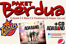 Launching Album ADA Band + PAKET BERDUA Texas Chicken  / @Texas Chicken Jl. Cikini Raya No 60A JAKARTA 8 April 2013 / by Texas Chicken