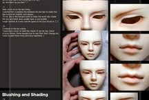 Doll Tutorials...faceups, modding, etc / The tutorials here cover a lot of things from faceups, to modding etc. Some things are for human cosplay but can be scaled down in size to be effective for dolls so they are pinned here as well.