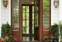 Grand Entrances  / Exteriors, Entrances, and Entrys