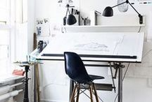 Workspace / What I want my workspace to be like and what workspaces of brilliant people look like