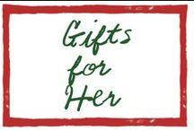 SJ Gift Guide for Women by Amanda Jas (Hokay Tokay) / A gift guide for or from girls by Amanda Jas of Hokay Tokay / by Sleepy Jones