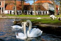 """Bruges Dream Holiday / A """"Venice of the North"""", Bruges is a well-preserved medieval town with charming swan-filled canals, gorgeous architecture, cobbestone streets with horsedrawn carriages, and many Belgian chocolate & waffle shops! It truly is a fairytale..."""