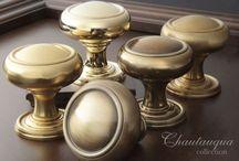 Chautauqua Collection / Chautauqua Collection - Traditional Solid Brass Decorative Door Hardware - New 2014!