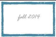 Fall 2014 Campaign / Fresh for fall. Shop now at SleepyJones.com / by Sleepy Jones