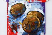 My Still Life Art / Paintings and drawings of still life subjects by Simon Birtall.