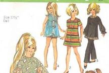 Barbie Clothing Patterns / Patterns for Barbie sized dolls.