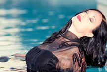 REGINA SALPAGAROVA FASHION PICTURES / Fashion model , Fashion pictures , dresses