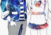 Galaxy Couple