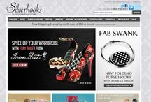 Silverhooks.com / Silverhooks is a unique boutique for women's accessories, wallets, and bags. Silverhooks is a leading retailer of purse hooks and has grown to include many popular designer women's brands including Big Buddha, Buxton, Calvin Klein, Lodis, and many more.