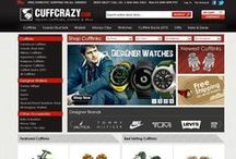 CuffCrazy.com / CuffCrazy is the largest online retailer of unique and novelty cufflinks. CuffCrazy was started in 2008 by Brad Howard and Dan Brownsher to service the online cufflink market with unique styles. Since 2008, CuffCrazy has experienced 300% growth every year.