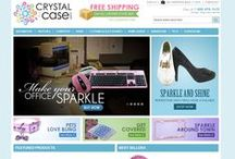 CrystalCase.com / CrystalCase.com is the premier destination for crystallized electronics accessories. We manufacture our own line of bling accessories including computer mice, keyboards, headphones, speakers, and book lights. CrystalCase was founded in 2010 and continues to expand it's online presence including name brand electronics.