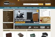 WalletNation.com / WalletNation.com is the premier online destination for Men's wallets & money clips. We pride ourselves on having one of the largest selections of designer and novelty wallets anywhere. Whether you are looking for a simple pass case or a top of the line luxurious wallet, WalletNation is your wallet headquarters!