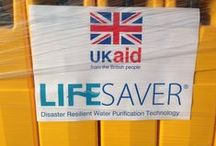 LIFESAVER supporting the Philippines / LIFESAVER® responds to Philippines Disaster with first shipment of 2,500 jerrycans, guaranteeing 50 million litres of pure drinking water