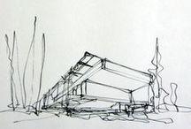 Eskiz Çizimler #architecture #sketch #drawing / #architecture #sketch #drawing
