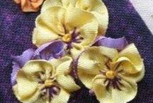 Květy / vyroba kvetin,háčkování,šití