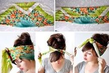 Headband & Hairstyles / #headband #hairstyle #moda #style #diy #doit #sendeyap