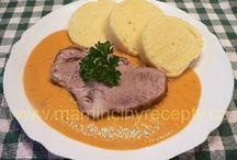 Vaření ,hlavní jídla / Recepty