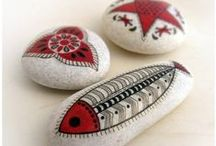 Stones Art / #art #stone #diy #craft #tutorial #art #handmade #handiwork