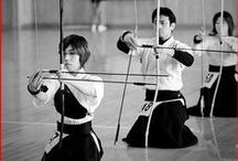 "Kyudo / Meaning ""The way of the bow"", this Japanese martial art style focused on archery."