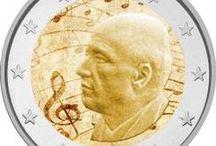 2 ευρώ / Έγχρωμα και αναμνηστικά 2 ευρώ
