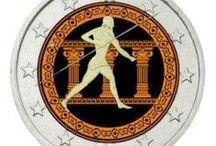 Ελληνικά Νομίσματα / Ελληνικά νομίσματα ευρώ/Ελληνικές εκδόσεις νομισμάτων