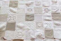 Granny Squares / Crocheted squares for Afghan blankets mainly