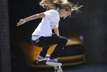 YES, girls can skate!