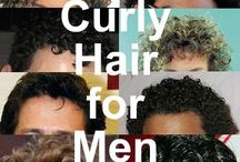 Curly Men / Men with Curls, help and style advice. For more tips and advice visit British Curlies: http://www.britishcurlies.co.uk/