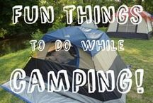 Camping Activities / We've got activities, sports, and other entertaining things you can do on your excursions. Ensure every camping trip is a hit!