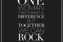 Vrouw en ondernemen