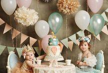 Birthday party ideas!!!