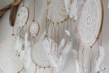 Project Ideas / Yarn + Felt DIY & crafts. Great for leftover yarn scraps!