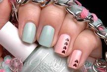 Nail art / I like pretty nails~